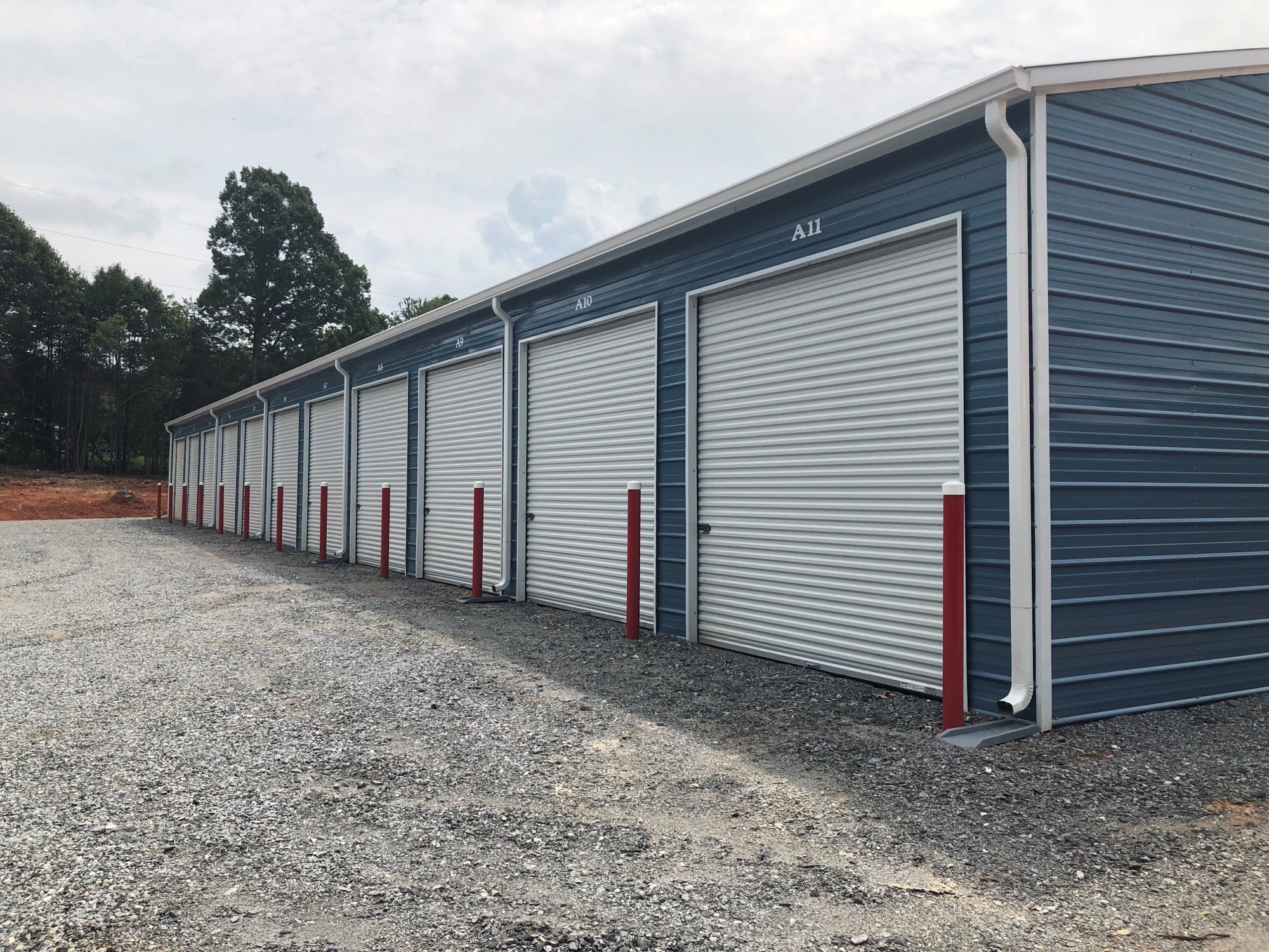 Newly Built Garages Available